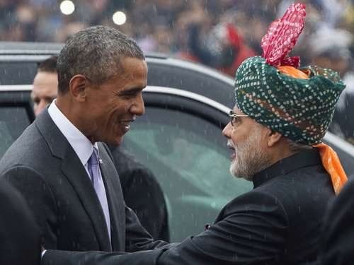 Obama Ehrengast zum Tag der Republik in Indien