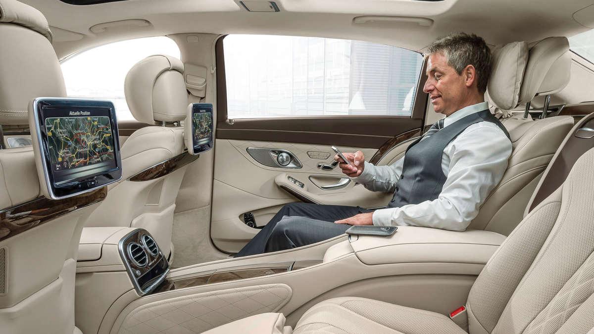 maybach: mercedes s-klasse für den leisen auftritt | auto