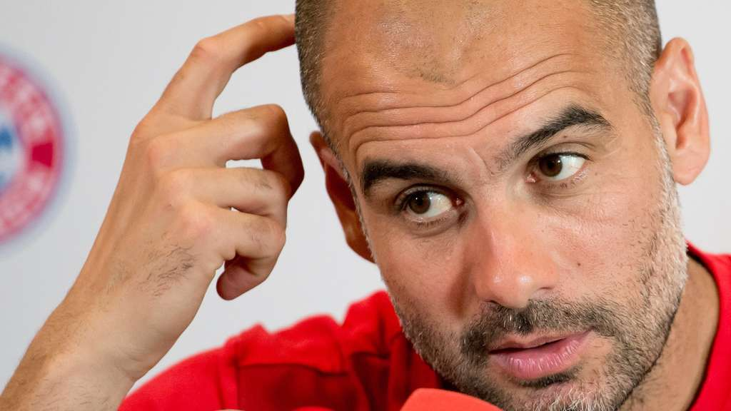 FC Bayern Pep Guardiola Katar Nationaltrainer
