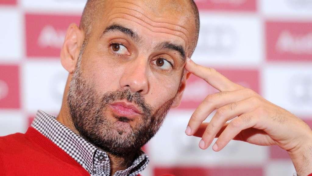 Pressekonferenz Pep Guardiola