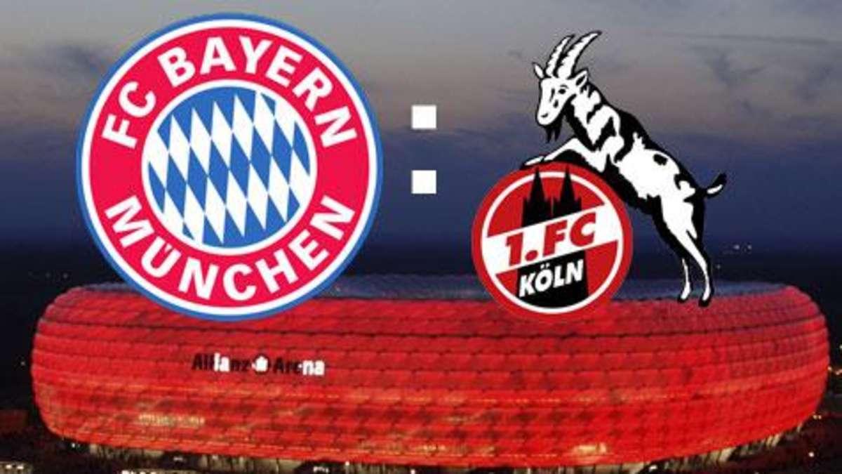 Bayern München Gegen Köln