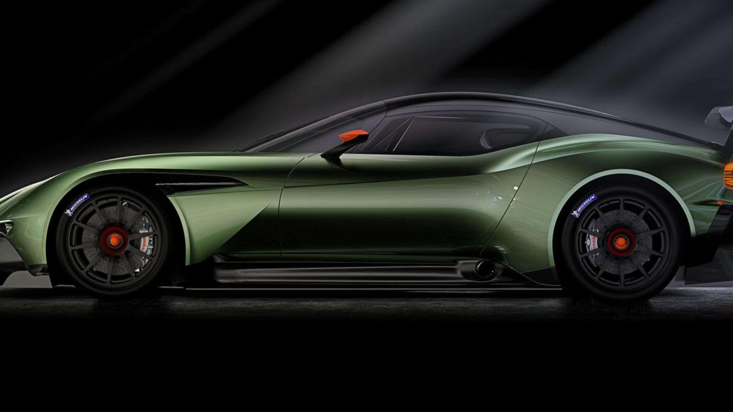 Aston Martin Vulcan Mit über 800 Ps Mit V12 Auto