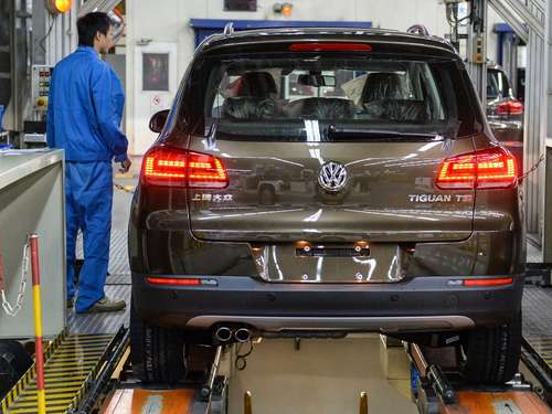 VW baut neues Modell des Tiguan in Mexiko