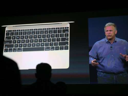 Fotos von der Keynote: MacBook und Apple Watch