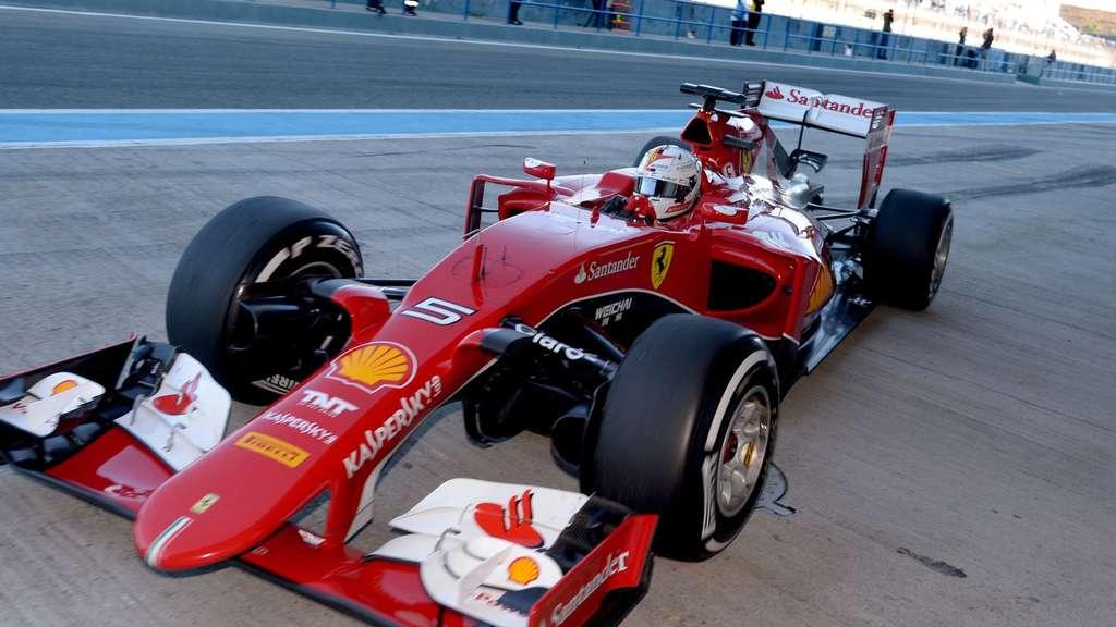 Vettels Neuer Formel 1 Wagen Bei Ferrari Heißt Eva Formel 1
