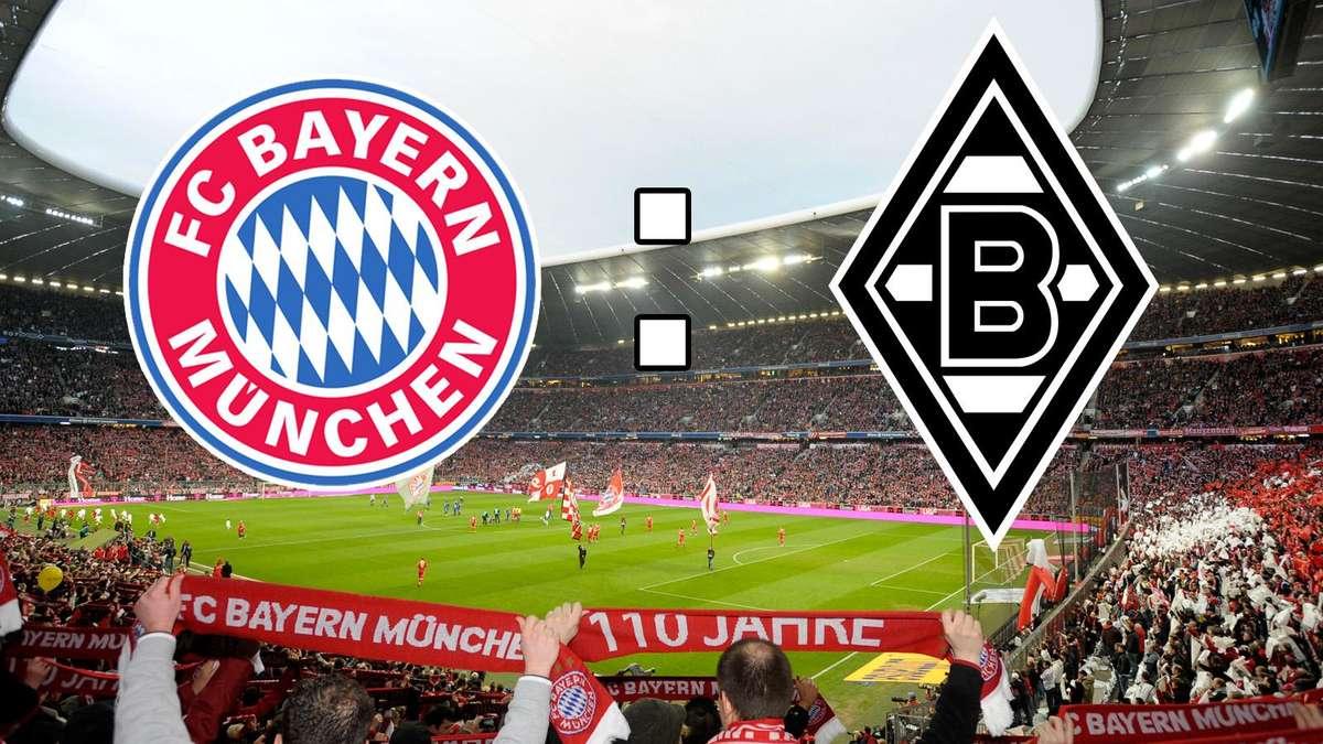 Bayern Gegen Borussia Mönchengladbach