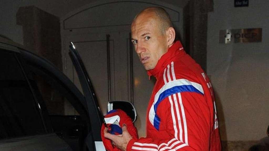 Arjen Robben Verletzung