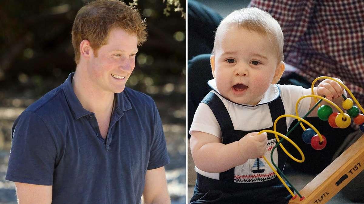 Prinz Harry Als Baby