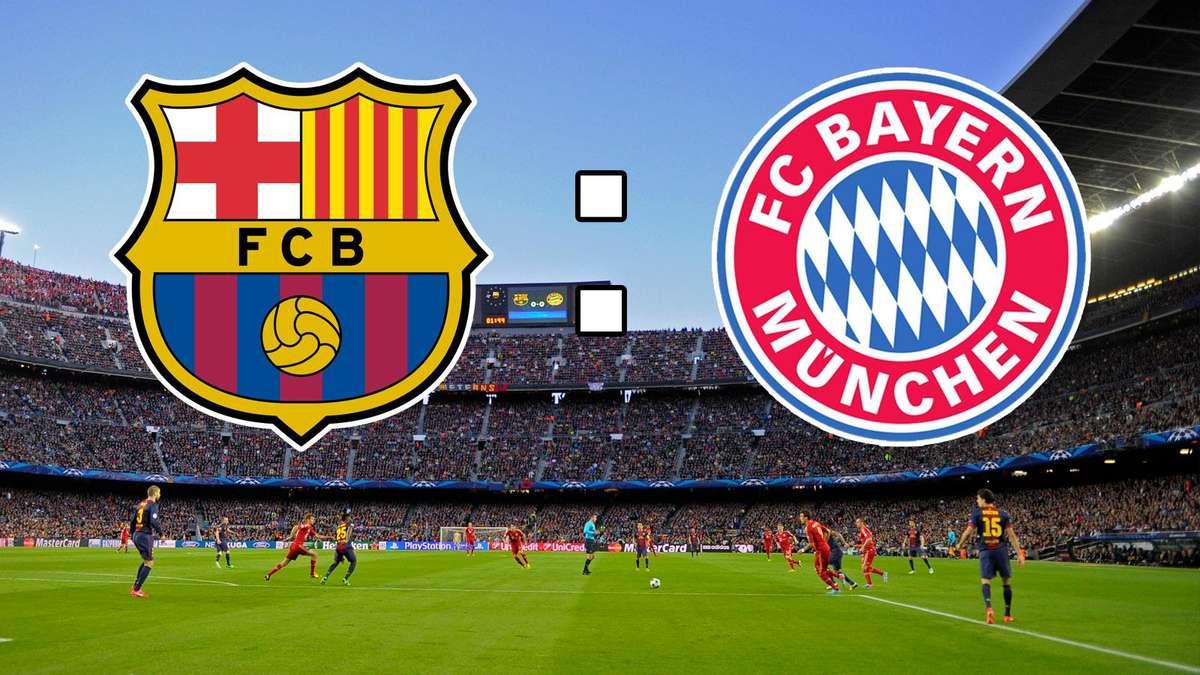 Bayern vs barca live ticker