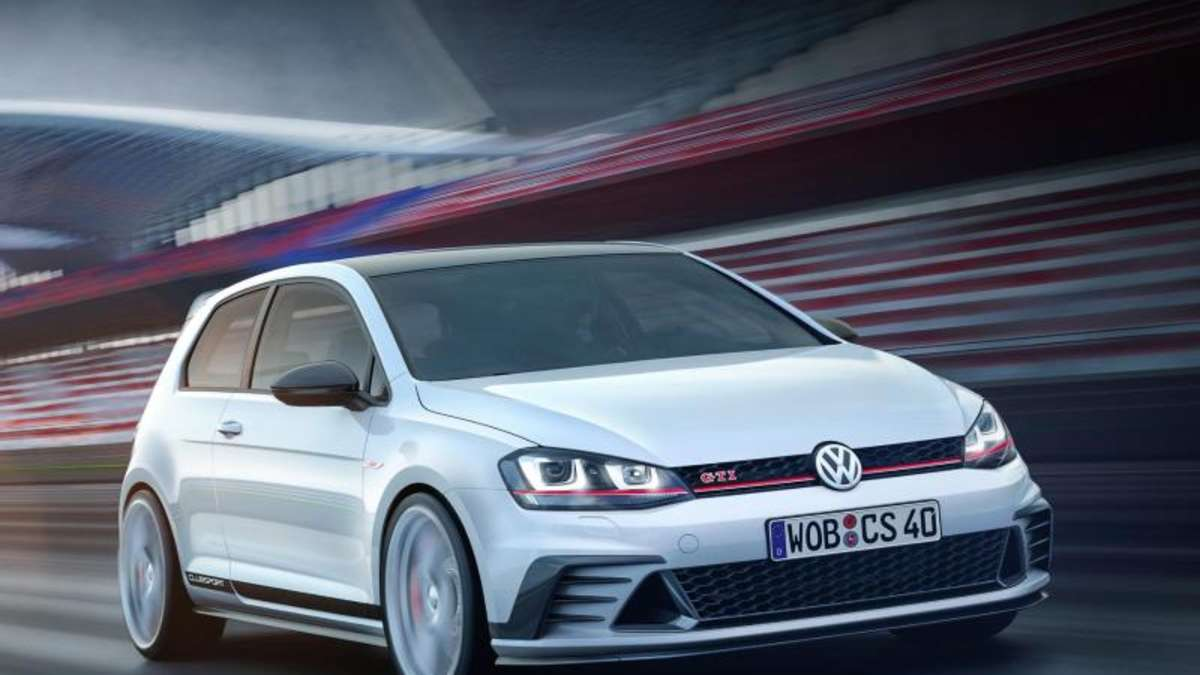vw baut den golf als gti edition mit fast 300 ps auto. Black Bedroom Furniture Sets. Home Design Ideas