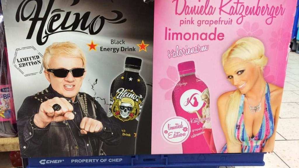 Energy-Drink mit Heino