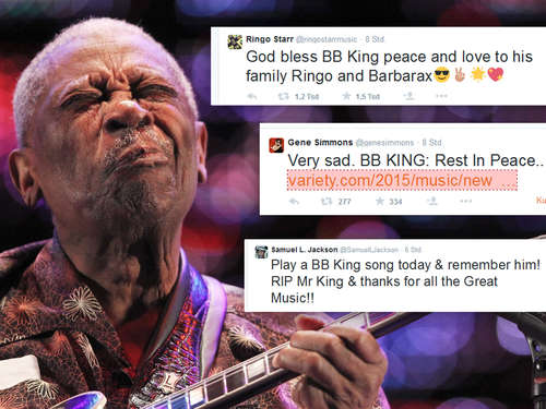 So trauern die Promis um Blues-Legende B. B. King
