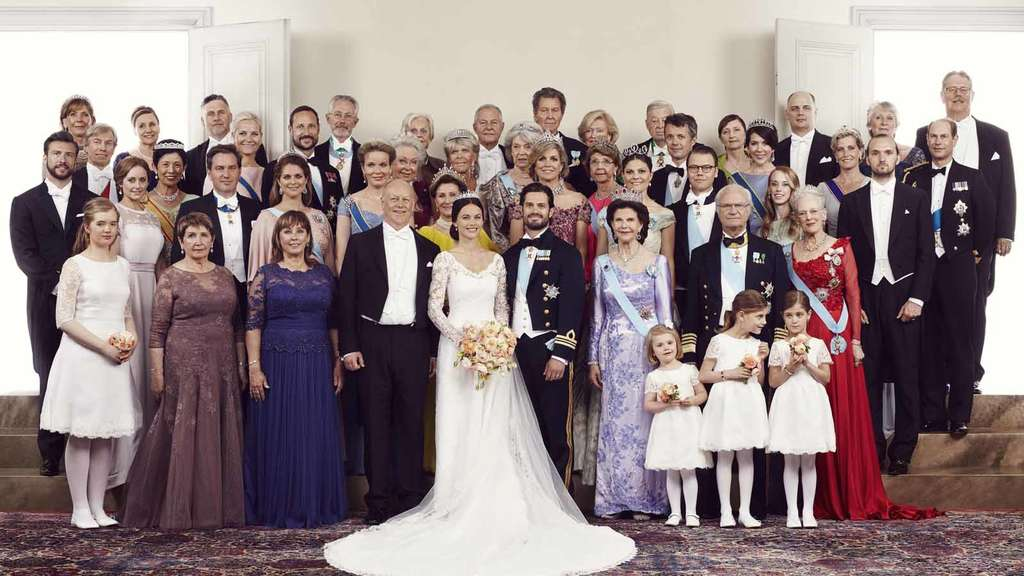 Real Royal Weddings: Royale Schweden-Hochzeit: Sofia Und Carl Philip Heiraten