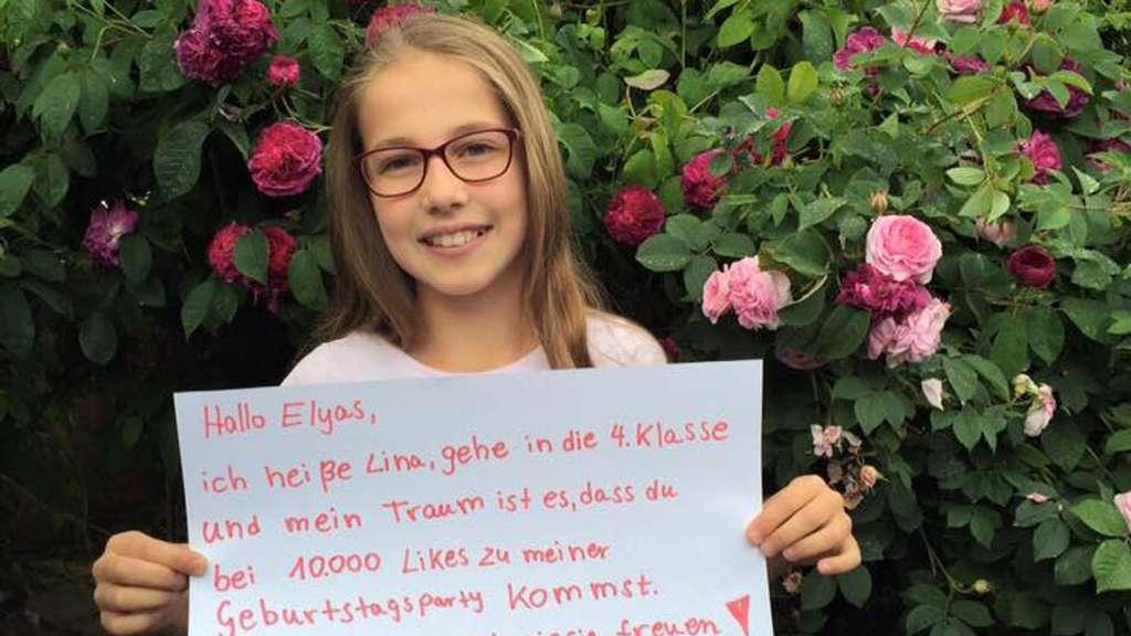 Bei 10000 Facebook Likes Viertklässlerin Wünscht Sich Elyas M