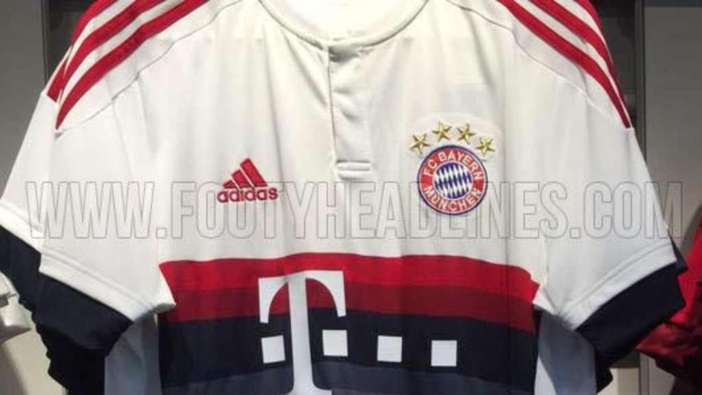 Fc Bayern München Fotos Vom Neuen Auswärtstrikot 20152016 Fc Bayern