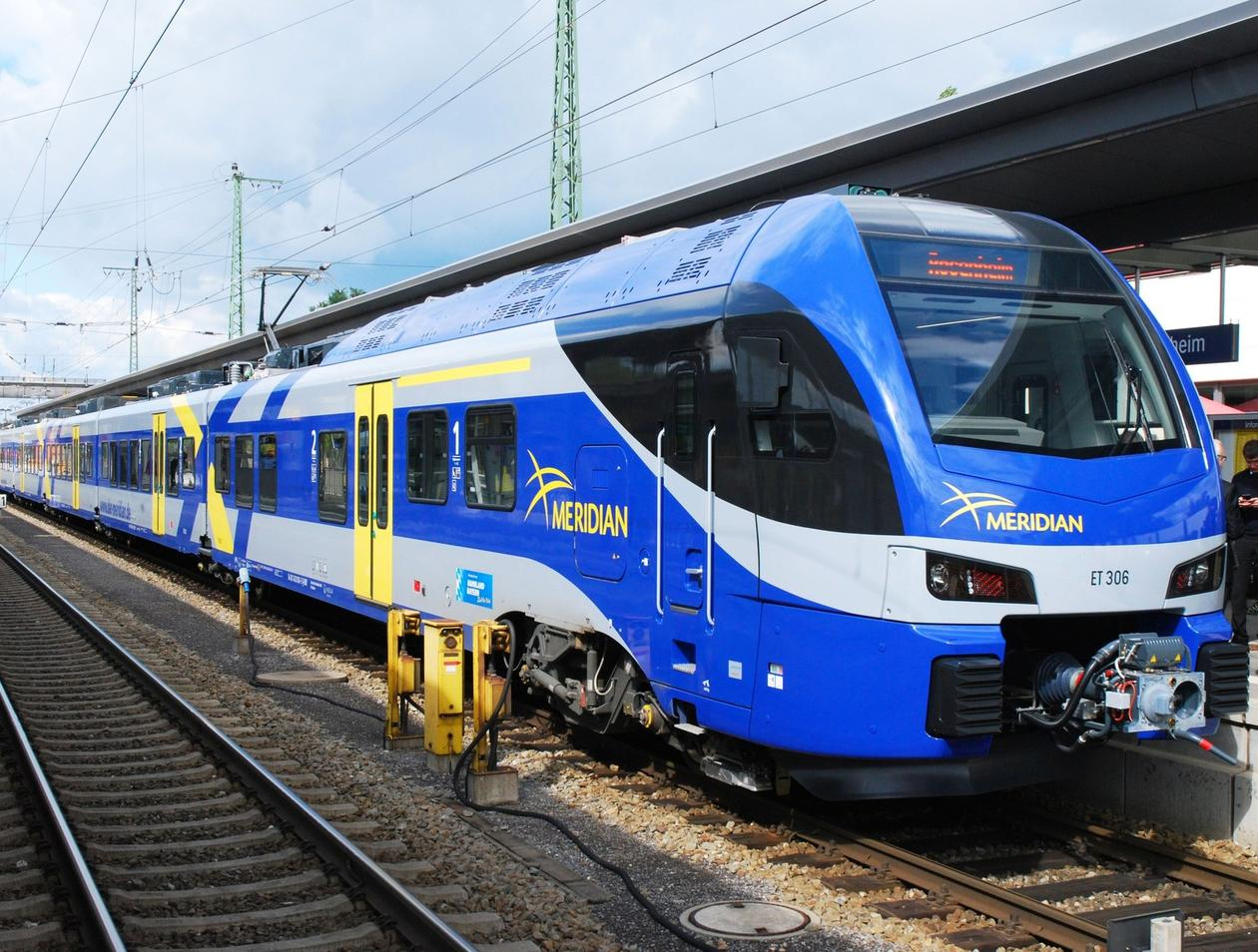 Erlebnisse Auf Einer Zugfahrt Im Meridian Zwischen Salzburg