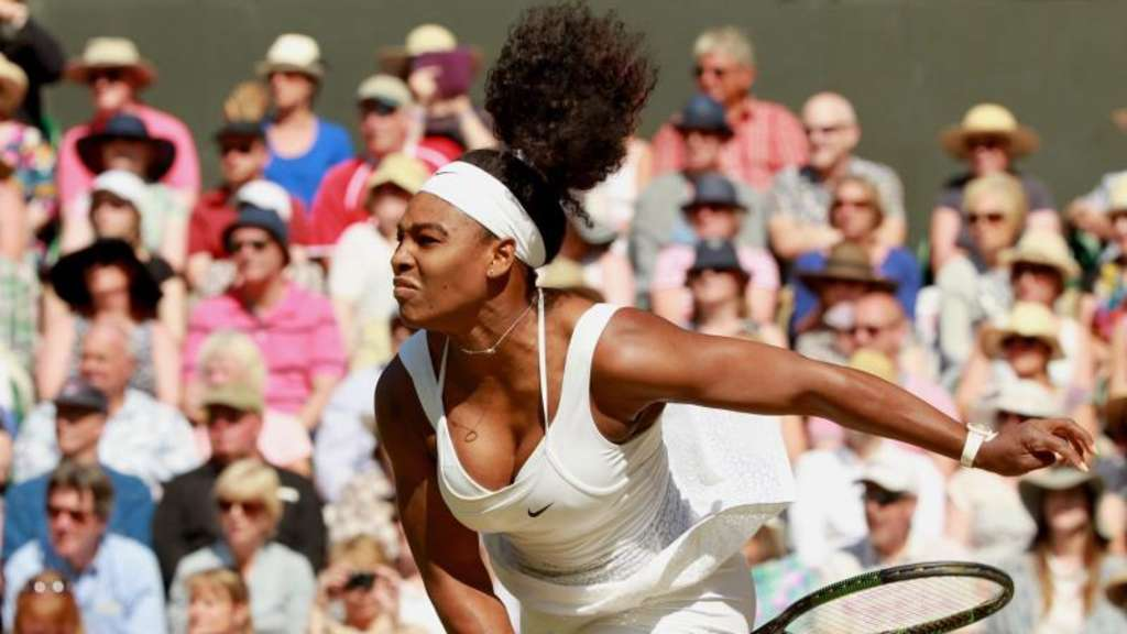 Serena Williams strebt in Wimbledon ihren 21. Grand-Slam-Titel an. Foto: Sean Dempsey