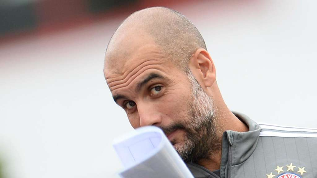Bayer-Trainer Pep Guardiola