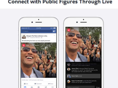Facebook startet Livestreaming-App