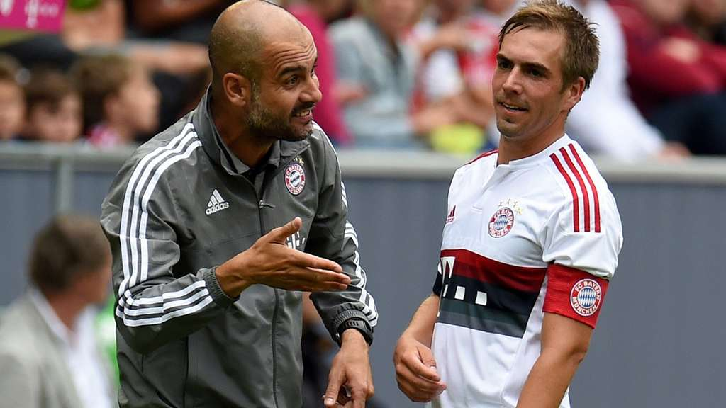 Pep ­Guardiola, Philipp Lahm