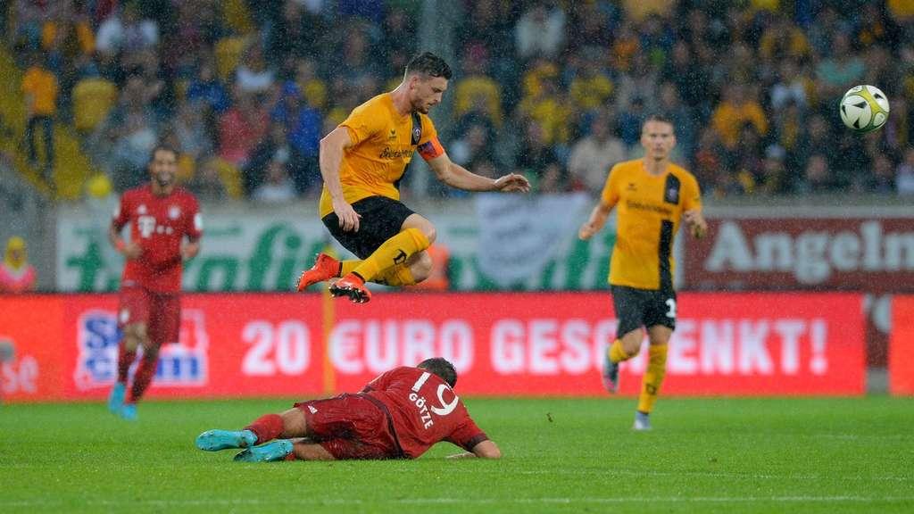 Fc Bayern München Bei Dynamo Dresden Bernat Rode Götze Rafinha