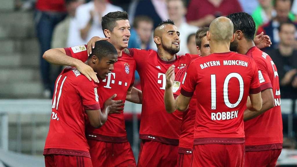 Fc Bayern München Spielplan Der Saison 201516 Fc Bayern