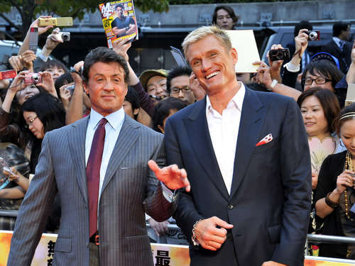 "Schwacher Kino-Start von ""The Expendables 3"""