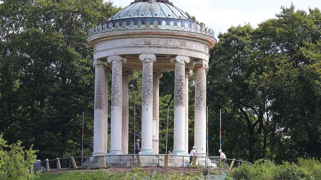 Monopteros Im Englischen Garten Für Umfassende Sanierung Ab Jetzt