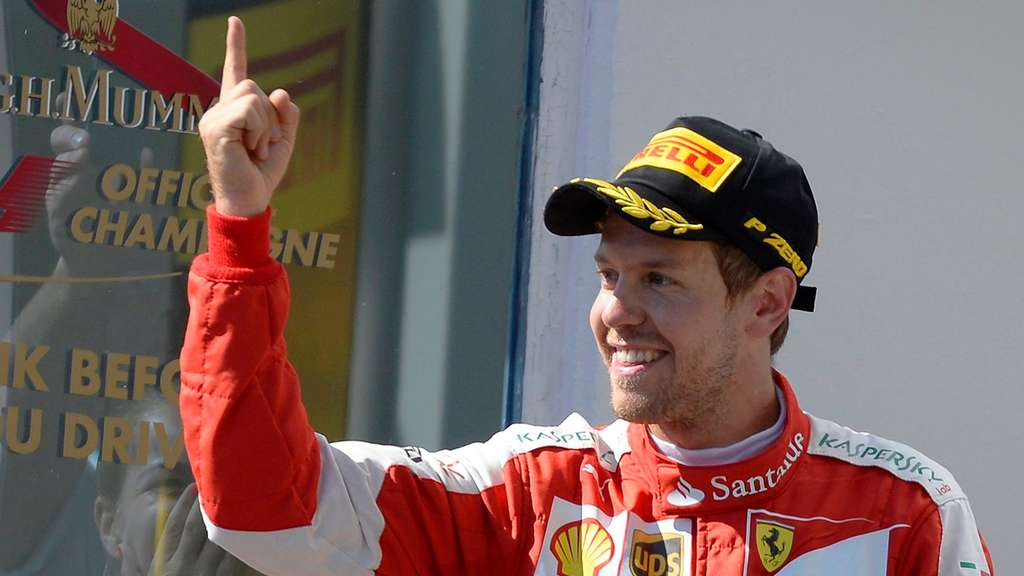 Sebastian Vettel freut sich auf Ferrari-Heimspiel beim ...