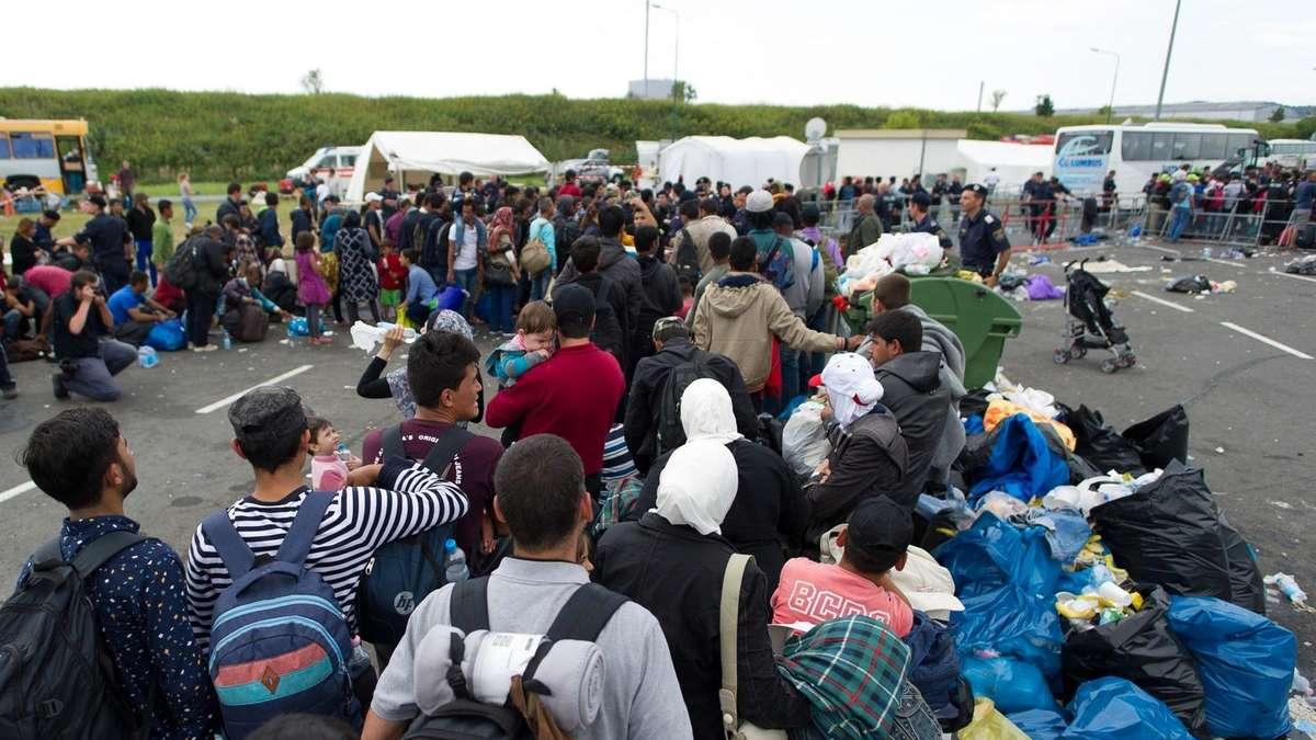 Flüchtlinge Heute In München