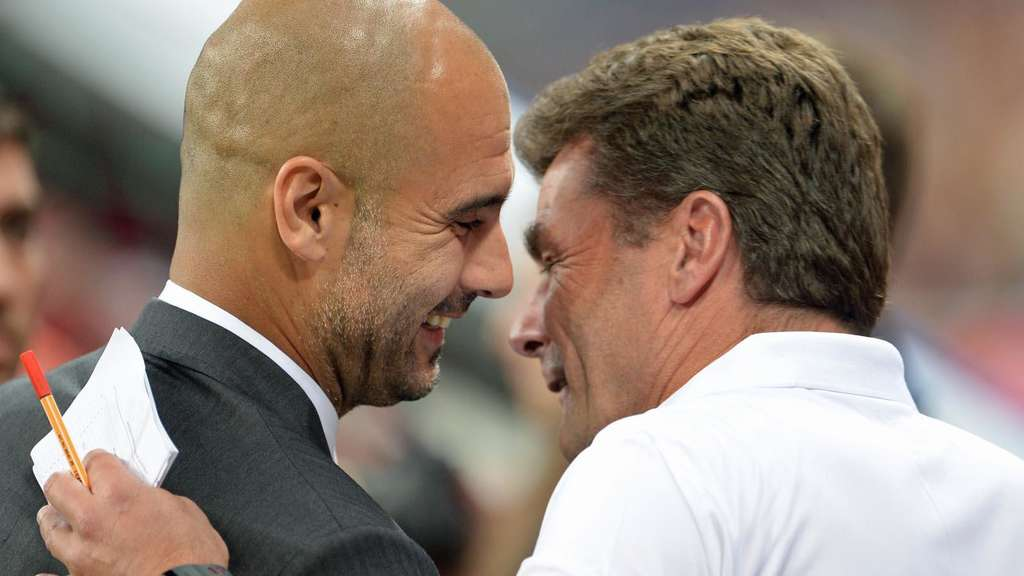 Pep Guardiola, Dieter Hecking