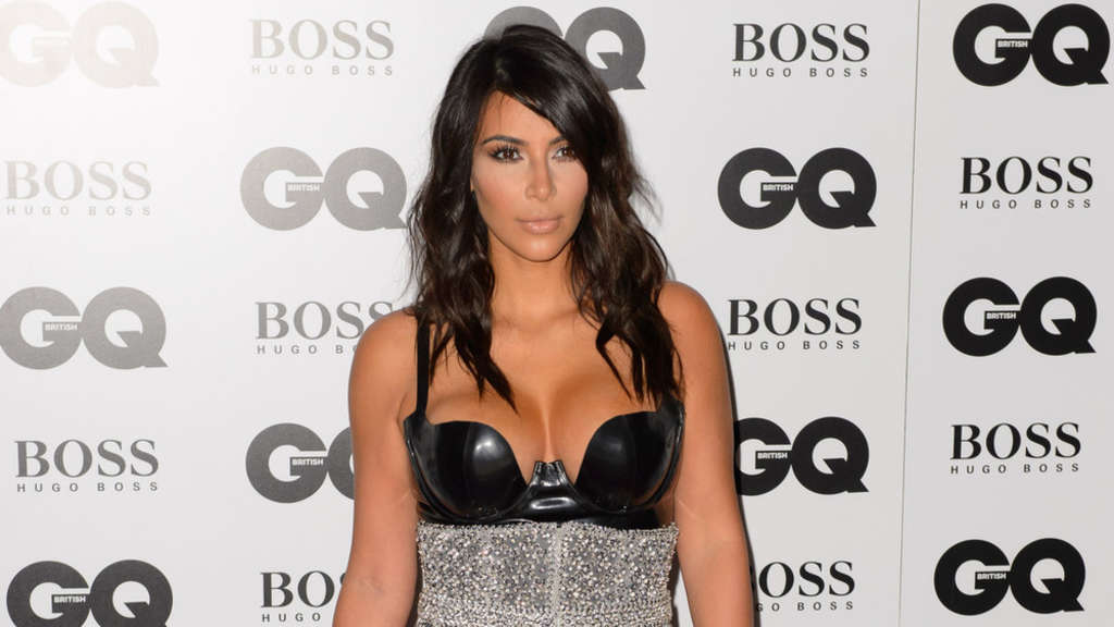 "Kim Kardashian bei den ""GQ Men Of The Year Awards"" 2014"