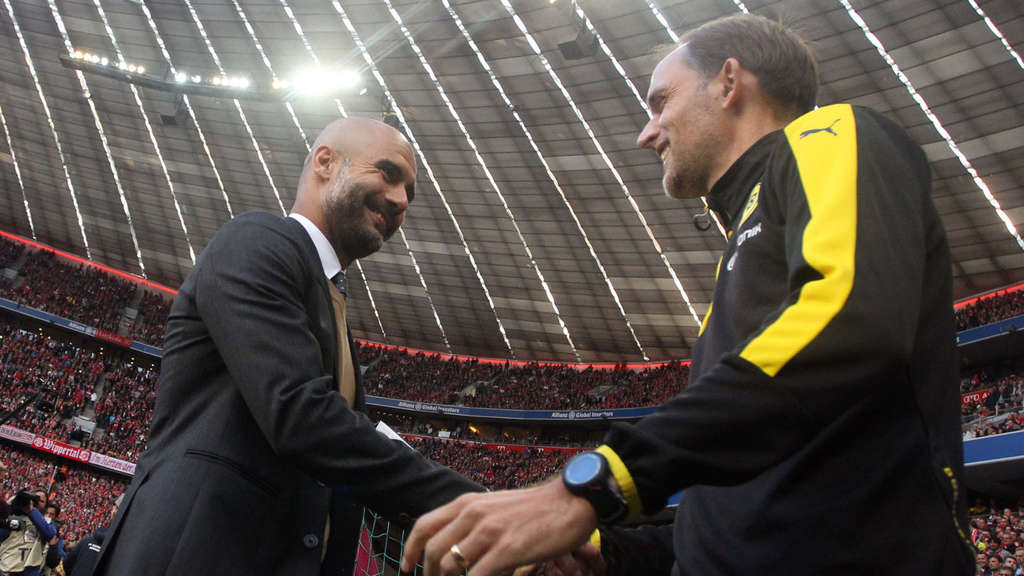 Pep Guardiola Thomas Tuchel