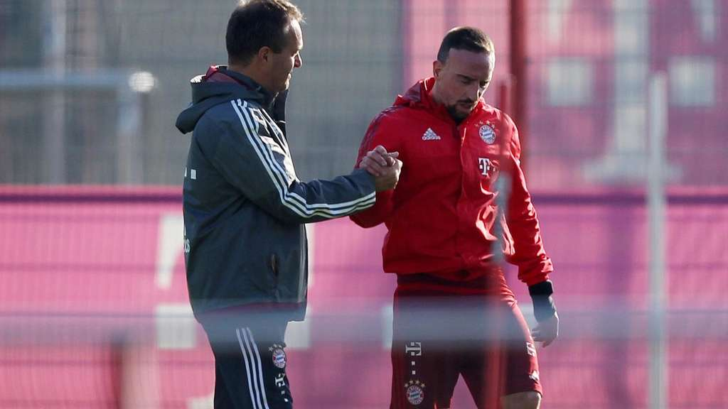 Franck Ribery, Andreas Schlumberger, Bayern München