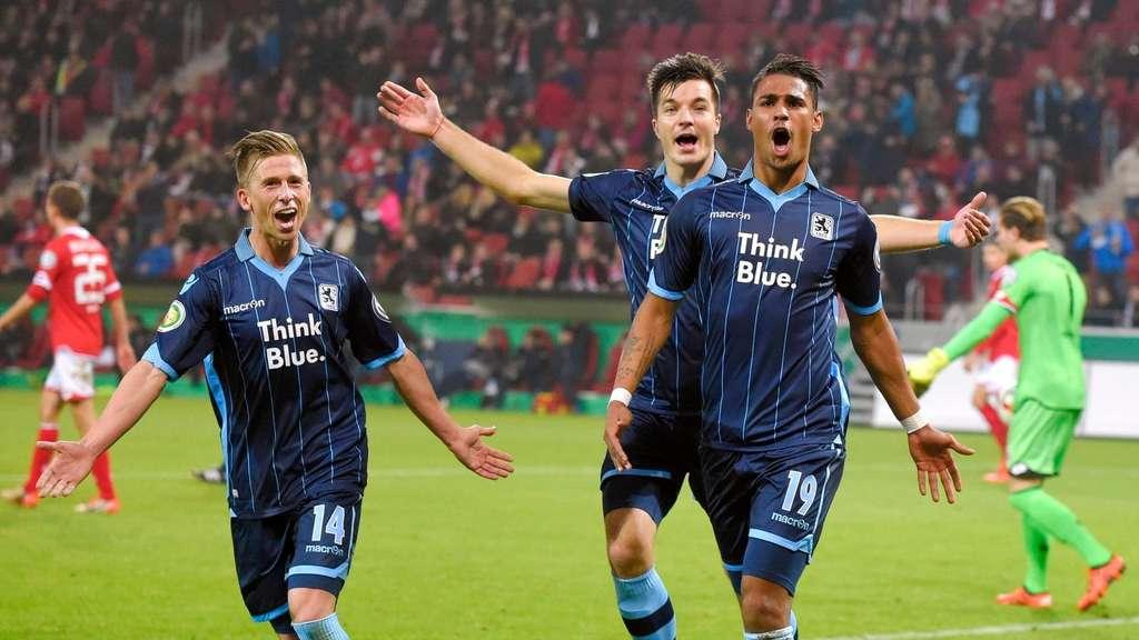 Fsv Mainz 05 Gegen Tsv 1860 München Dfb Pokal Spielbericht 1860