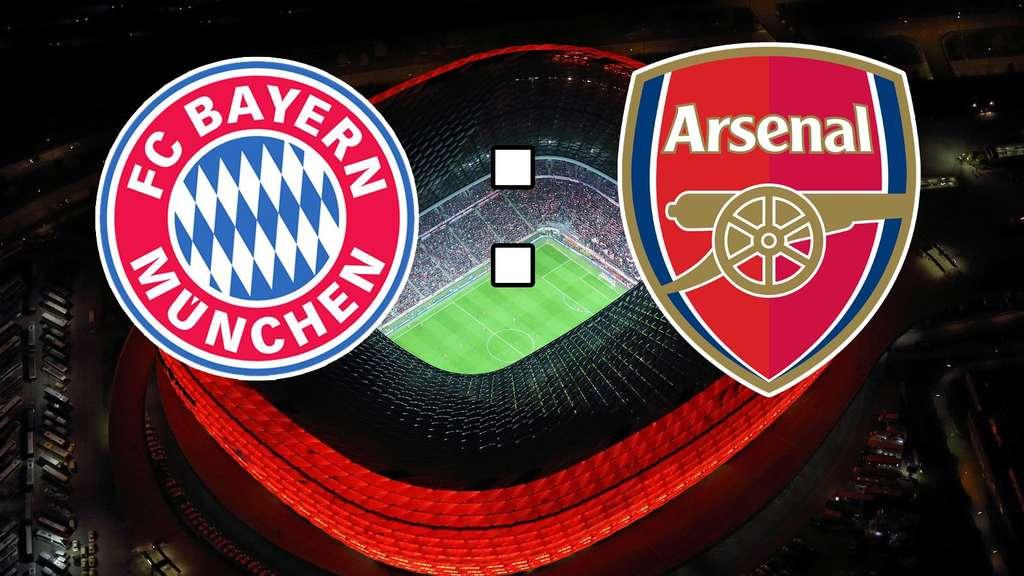 Fc Bayern München Gegen Arsenal