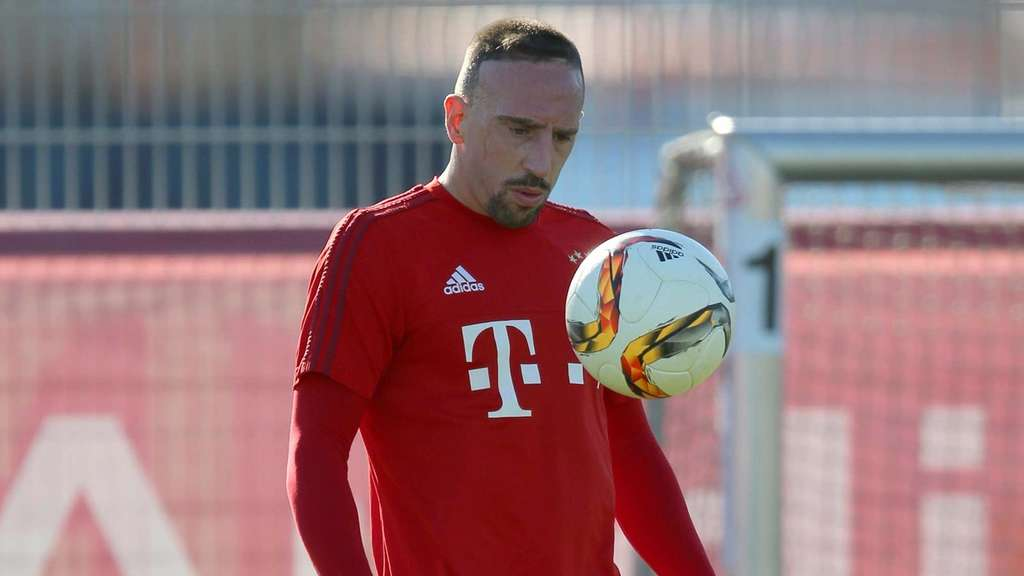 franck ribery vor comeback bin bald wieder der alte. Black Bedroom Furniture Sets. Home Design Ideas
