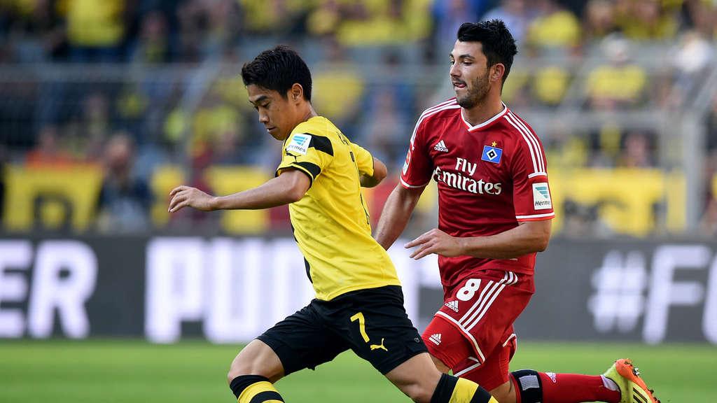 Hamburger Sv Borussia Dortmund Bundesliga Jetzt Live Im Tv Und