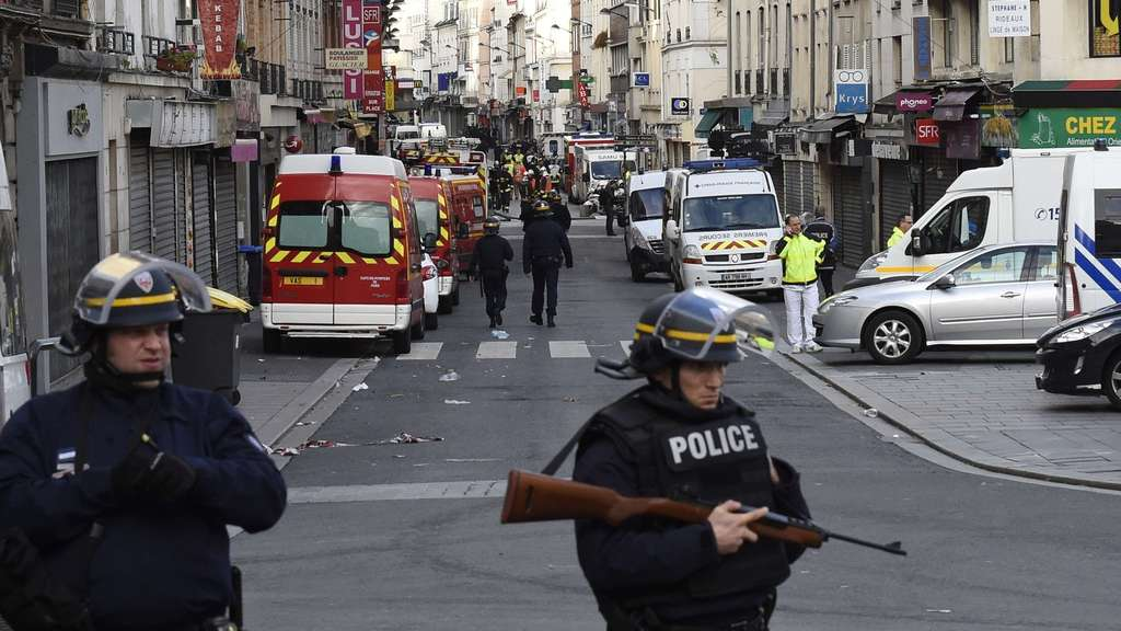 Nach Terror in Paris News Ticker