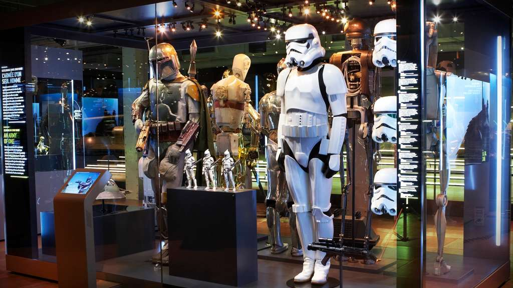 star wars ausstellung kommt nach m nchen in die kleine olympiahalle kultur. Black Bedroom Furniture Sets. Home Design Ideas