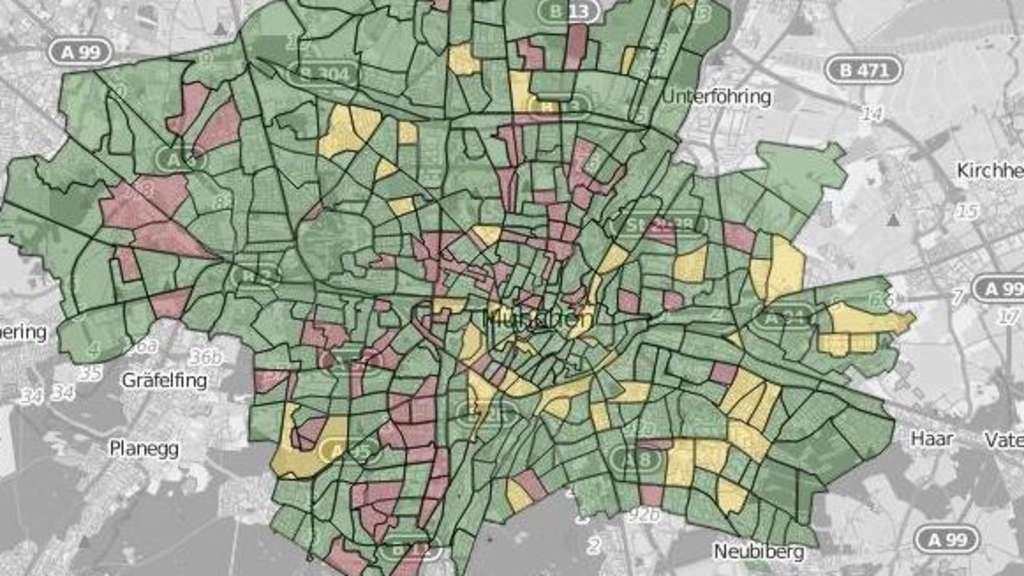Karte München Stadtteile.München Und Seine 477 Dörfer Interaktive Karte In Welchem