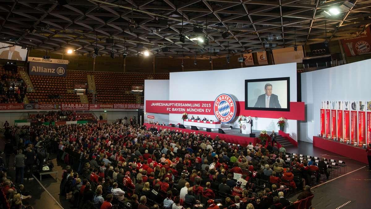 Jahreshauptversammlung Fc Bayern