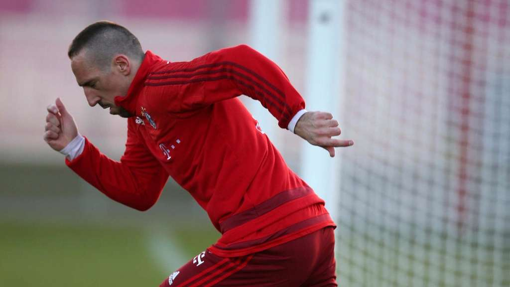 Franck Ribery, Training