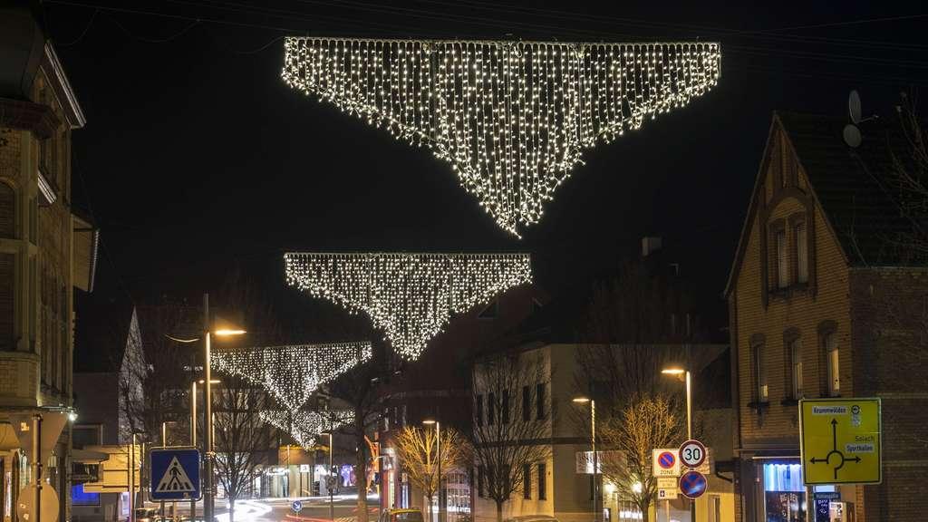 Weihnachtsbeleuchtung München.Eislingen Weihnachtsbeleuchtung Sieht Aus Wie Schlüpfer Welt