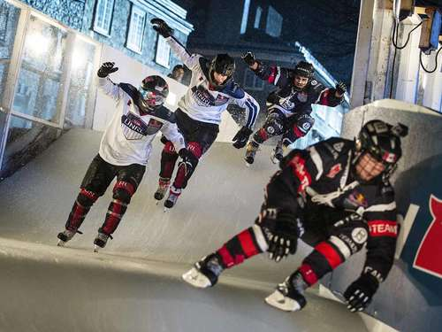 Impressionen: Red Bull Crashed Ice in Quebec