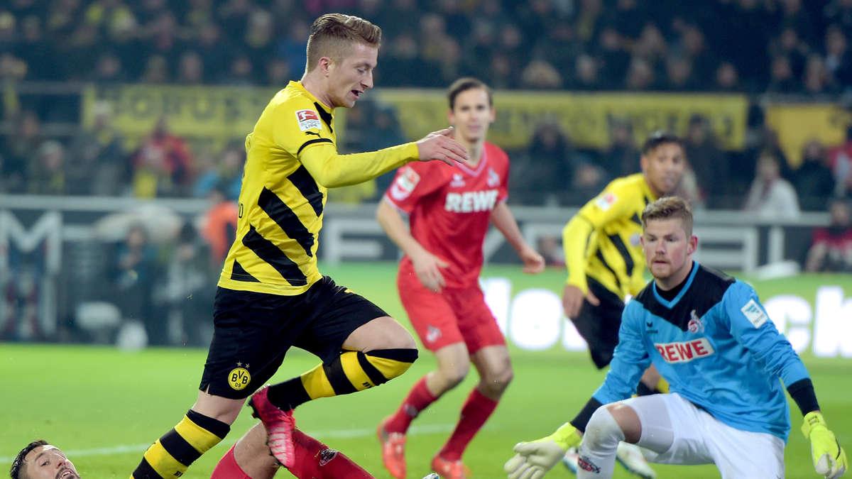 1 Fc Koln Gegen Borussia Dortmund Bundesliga 17 Spieltag Jetzt Live Im Tv Und Im Live Stream Fussball