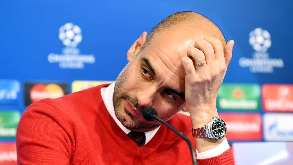 Bald weg? Pep Guardiola.