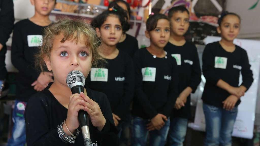 UNICEF Spendenaktion: Mahas Weihnachten: Ein Lied für den Frieden   Welt