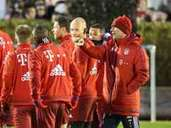 FC Bayern, Trainingsauftakt, Winterpause