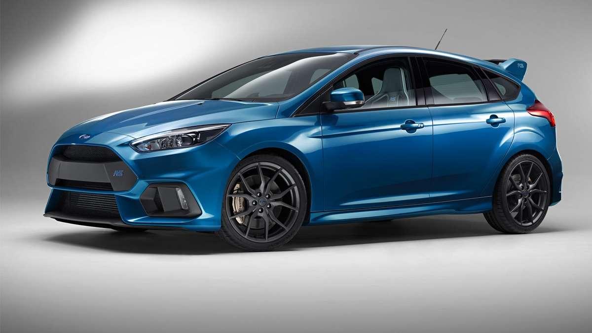 Münchner Autotage 2016: Der neue Ford Focus RS - Ein kraftvoller ...